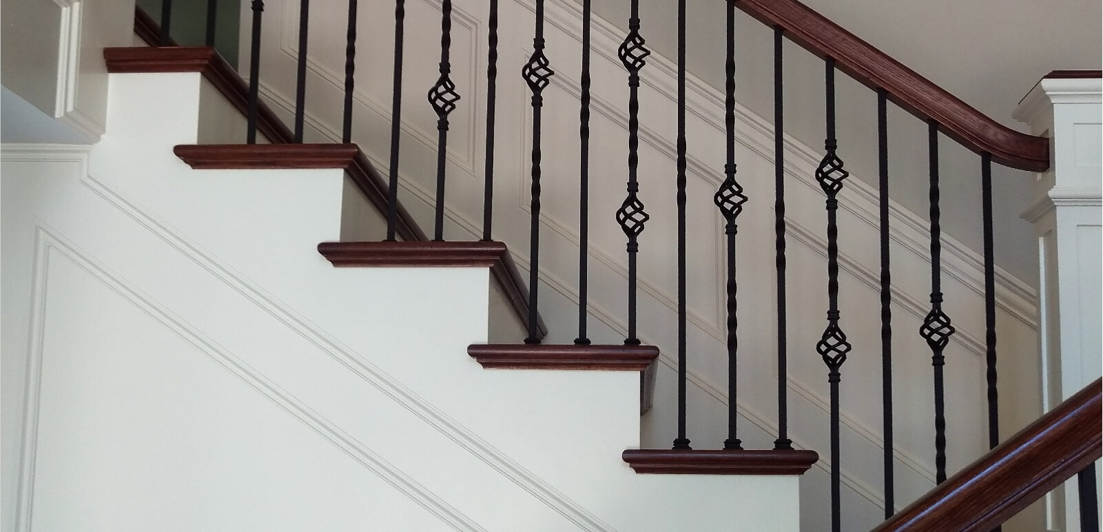 Houston Stair Parts Stair Remodel Iron Balusters Railing Contractors